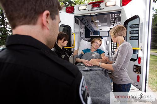 Private ambulance service in San Antonio, texas