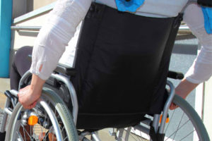 Wheelchair transportation service